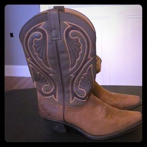Ladies Leather Cowgirl boots